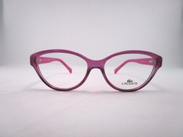 Lacoste L2764 513 Optical Frame Pink Clear Cateye Eyeglasses - $65.41
