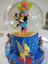 Walt 100th Disney Hallmark Waterball Plays When You Wish Upon A Star - $32.38