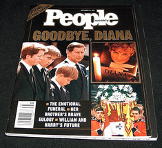 People Magazine Special Tribute September 22 1997 Funeral Goodbye Prince... - $9.18