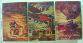 Tom Swift 1st Print Applewood Books 3 lot MotorBoat Airship MotorCycle h... - $22.00
