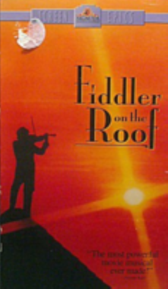 Fiddler on the Roof Vhs
