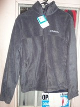 1 new columbia mount grant full zip long sleeve fleece jacket size S sma... - $40.00