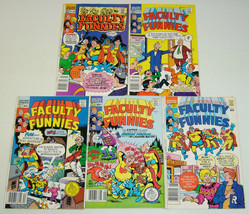 Faculty Funnies #1-5 VF/NM complete series - archie comics - all newssta... - $33.24