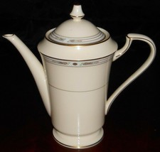 MIKASA Fine Ivory COURTLAND PATTERN Four Cup COFFEE POT Made in Japan - $39.59