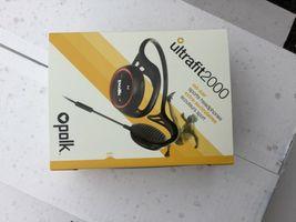 Polk Audio UltraFit 2000 sports headphones (Black/Red) image 7