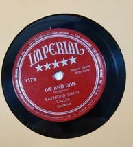 "Rsymond Smith Caller 78 10"" Square Dance - Dip And Dive / Promenade... E... - $19.80"