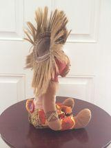"""Disney Lion King Broadway Musical SIMBA Bean Bag Plush 11"""" African Tribal image 5"""