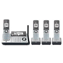 AT&T CLP99486 4 Cordless Phones w/Bluetooth Connect to Cell & Answering Machine - $126.95