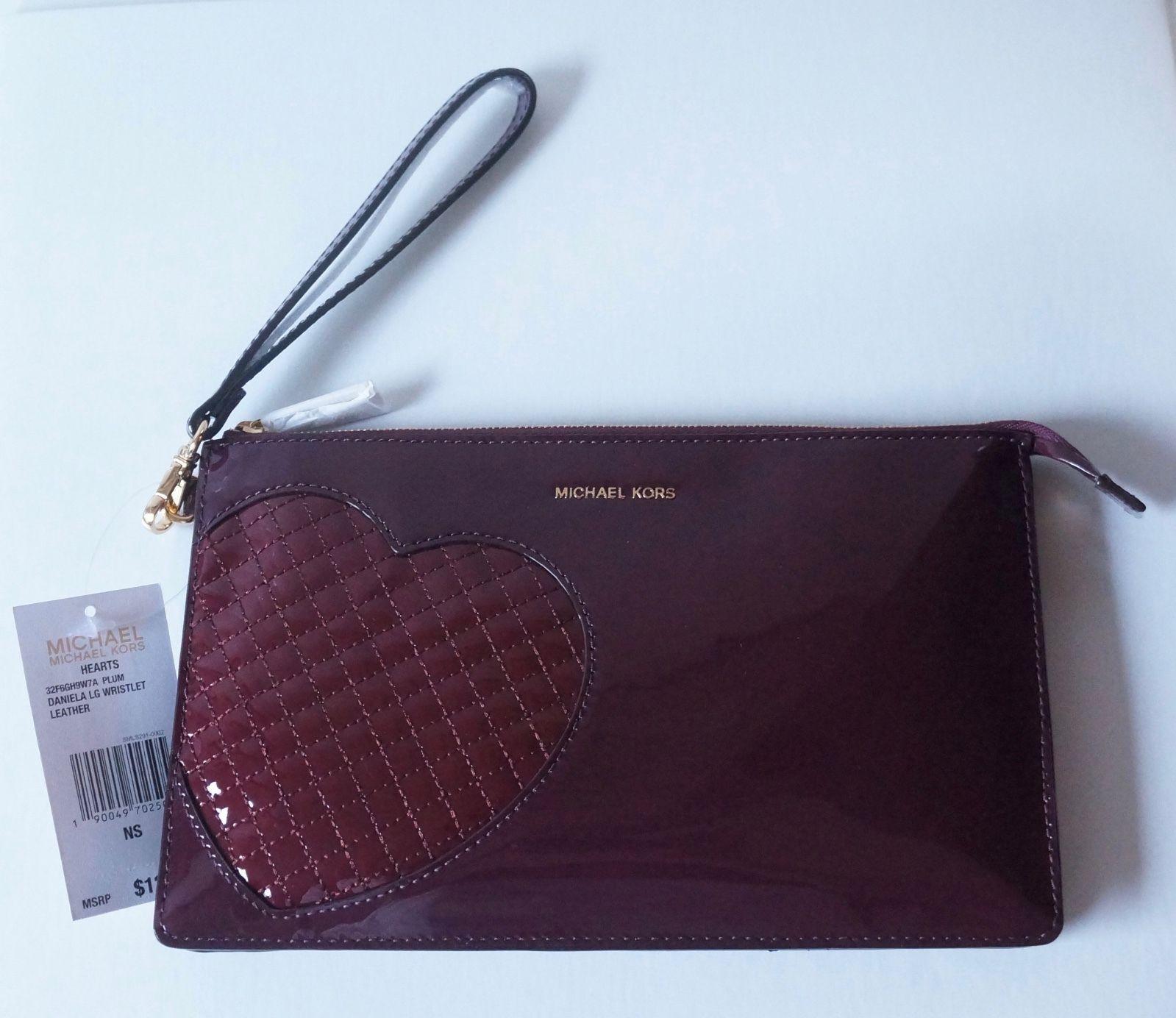 681ed0f7f6e2d Nwt Michael Kors Daniela Hearts Large Patent and 50 similar items. S l1600