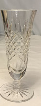 "Vintage WATERFORD  7"" Crystal Footed Vase Or Water Glass Or Iced Tea - $34.65"