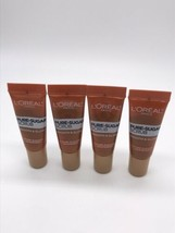 4x Loreal PURE SUGAR Scrub MINI/Travel .67oz Face & Lips - $9.85