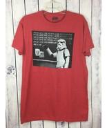 Star Wars Stormtrooper T-Shirt Size  L Chalkboard Sentences Droids Were ... - $12.99