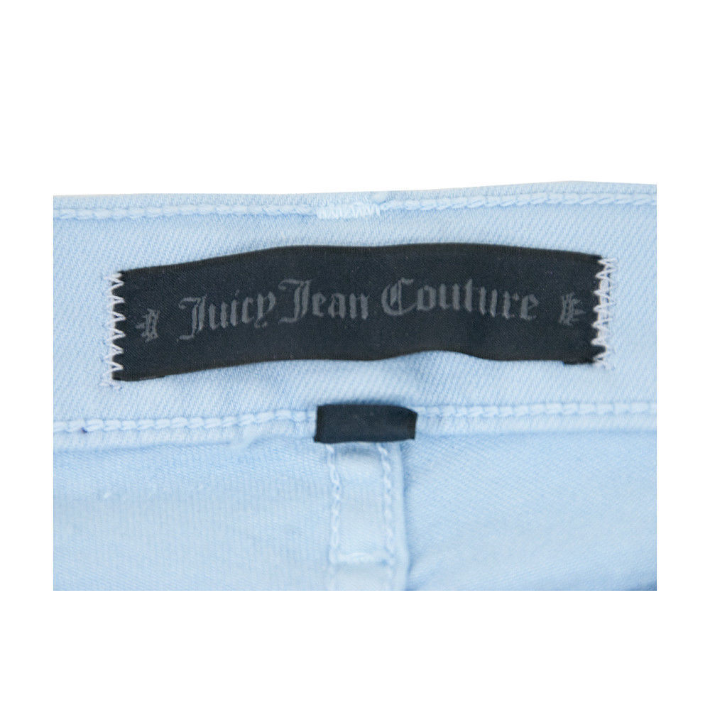 Juicy Couture Black Label Malibu Sky Iridescent Stretch Skinny Jeans 30 NWT image 2