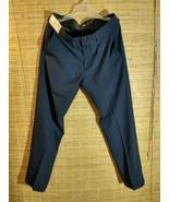 Haggar H26 Men's Performance Dress Pants Straight Trousers 34 x 32 Navy ... - $21.51