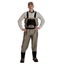 Caddis Mens Breathable Stockingfoot Waders - XXL Stout Tan - $114.91