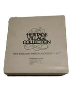 Dept. 56 Heritage Village New England Winter Accessory Set 5 figures LN ... - $13.25