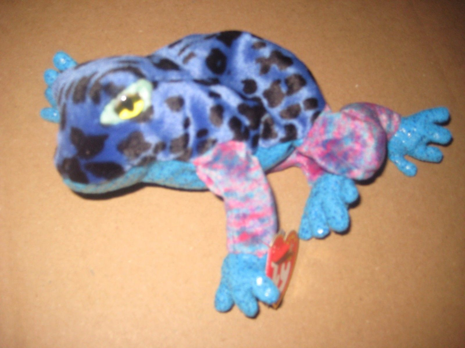97a8cbeb0dd Ty Beanie Babies Blue Dart Frog Poisonous and 50 similar items. S l1600