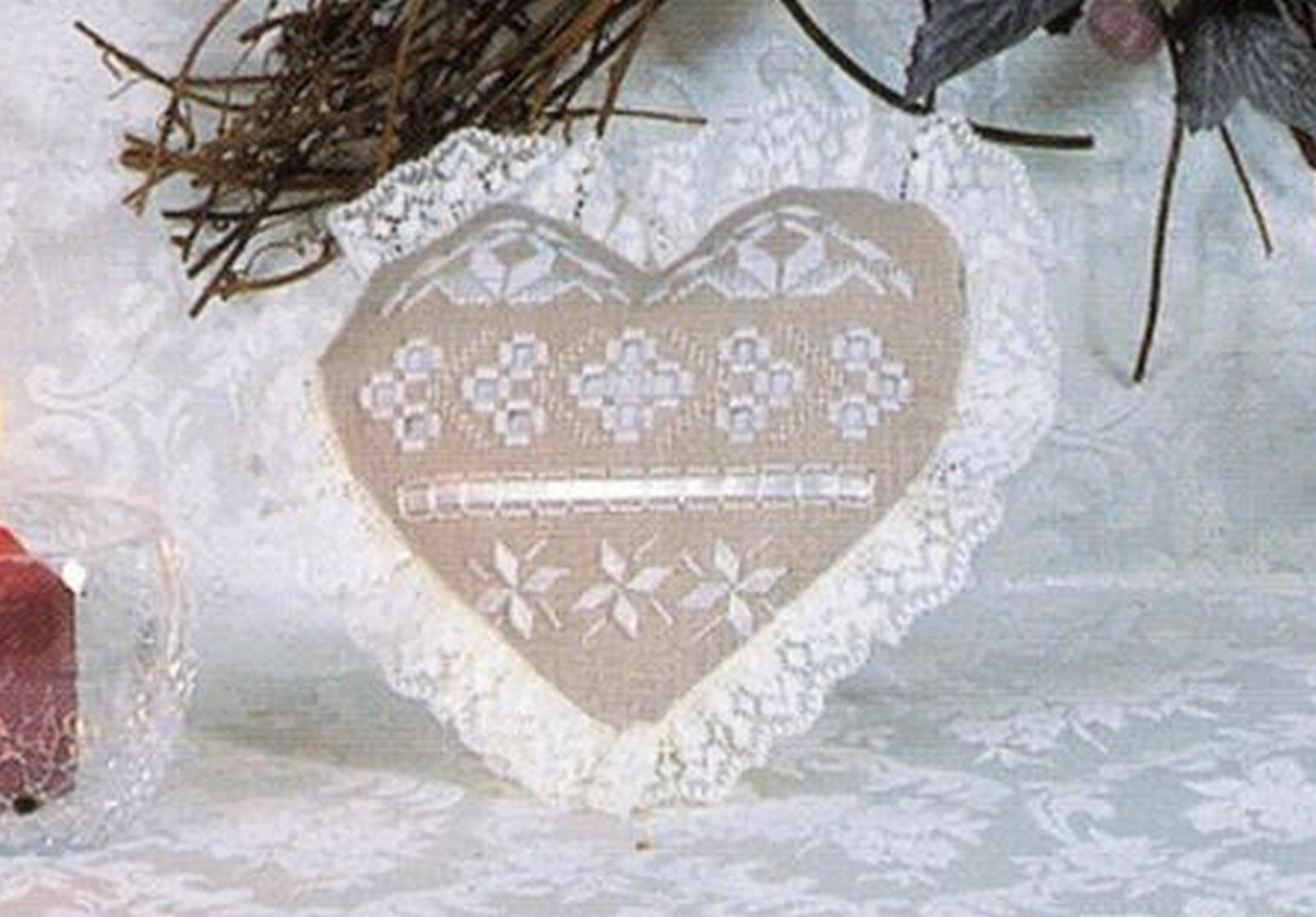I Love Autumn Hardanger Embroidery Seasonal Sampler Rosalyn Watnemo Book image 6