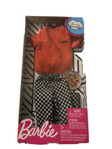 Barbie- Ken Doll Pizza Chef Fashion Outfit Clothes New In Box! Pizza Man - $7.69