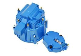 A-Team Performance CR6BL HEI OEM Distributor Cap, Rotor and Coil Cover Kit 6 Cyl