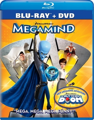 Megamind (Blu-Ray/DVD/2 Disc Combo)