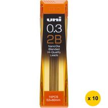 [Back to School] Uni Nano Dia UNI0.3-202ND 0.3mm 2B Refill Leads (Pack o... - $17.69