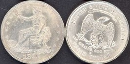 **REPLICA**1873-S U. S. Trade Dollar - $16.98