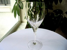 """High Quality Clear Crystal Wine Glass 8"""" Tall - $9.90"""