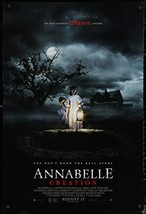 "ANNABELLE CREATION - 27""x40"" D/S Original Movie Poster One Sheet 2017 Ho... - $19.59"