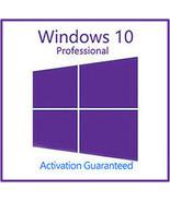 Windows 10 Pro Professional Key With Download 32/64 Bit - $142,13 MXN