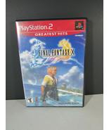 FINAL FANTASY X 10 PlayStation 2 PS2  - $11.87