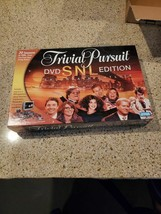 Parker Brothers Trivial Pursuit DVD SNL Edition Board Game, New SEALED - $15.00