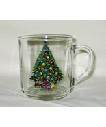 Action Industries Christmas Holiday Magic Pattern Luminarc Glass Mug Set... - $19.75