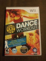 Gold's Gym Dance Workout (Nintendo Wii, 2010) Compatible Wii Balance Boa... - $21.44