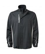 NWT BOBBY JONES Golf Wind Rain jacket XL Black water resistant H20 light... - $67.89