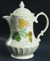 Coffee/tea Pot & Lid in Vineyard by Metlox -  Vernon Ware - $20.00