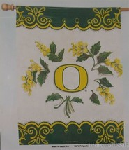 NCAA Oregon University Ducks Vertical Flag College Sports 27x37 Yellow F... - $7.69