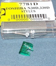 TOSHIBA N-30D N-330D N-320D replacement TURNTABLE STYLUS NEEDLE C320M image 1