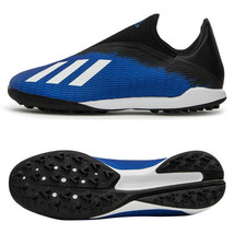 Adidas X 19.3 LL TF Turf Football Shoes Soccer Cleats Blue/Black/White E... - $107.99
