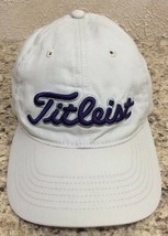 Titleist Footjoy FJ  Baseball Cap /Hat  Off White Embroidered Cotton - $14.84