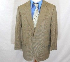 BROOKS BROTHERS Mens 42 R/42R WOOL HOUNDSTOOTH Blazer/Sport Coat/Suit Ja... - $32.27