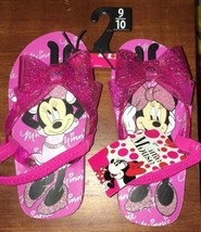 Disney Minnie Mouse Sandals Girls Size 9 10 NWT - $11.88