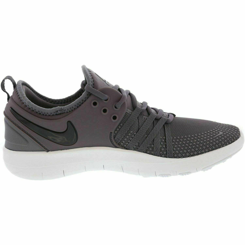 Nike Womens Free Tr 7 Low Top Lace Up Running Sneaker Gunsmok/Grey/White S-7.5