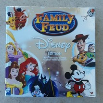 Family Feud Disney Edition Silver Box Signature Board Game 100% Complete EUC - $14.75
