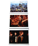 3 LORD OF THE RINGS Movie 8x10 Photos Elijah Wood Ian McKellen Sean Asti... - $19.95