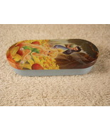 Fairy Tin Box with hinges Storage container Collectible Vintage - $5.99