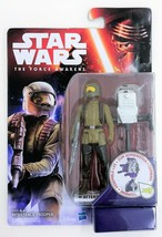 "Star Wars Force Awakens Resistance Trooper Space Mission 3.75 "" Action F... - $12.21"