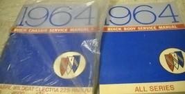 1964 Buick LESABRE WILDCAT ELECTRA 225 RIVIERA Service Repair Shop Manua... - $128.64