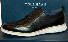 Cole Haan Men's Grand Evolution Wingtip Derby Oxford Black  Shoes Sz US ... - $127.71