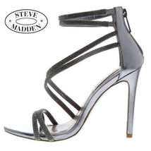 Ladies Strap Steve Madden Jewel Sandals - $77.86